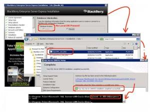 Blackberry Enterprise Server SQLExpress Fix