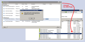 Error Message Installing the VMware SRM Plugin