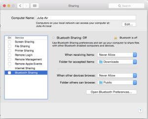 Apple File Sharing